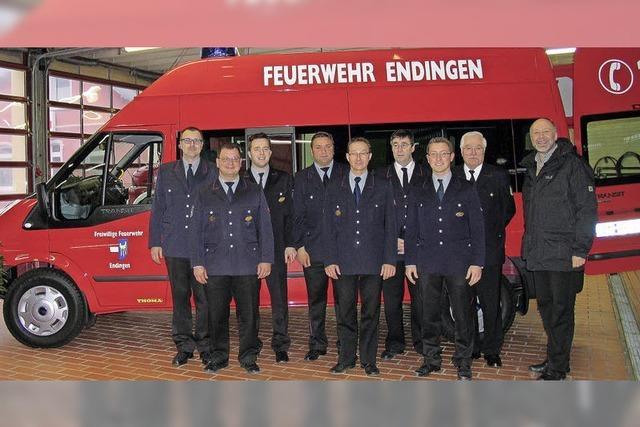 Neues Fahrzeug für die Feuerwehr