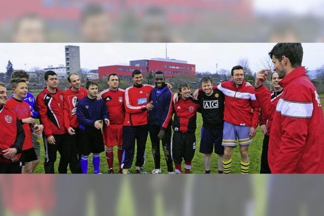 Die Fußballer des Gehörlosensportvereins Freiburg in der Champions League