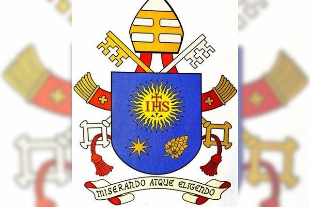 Das gleiche Wappen wie der Papst