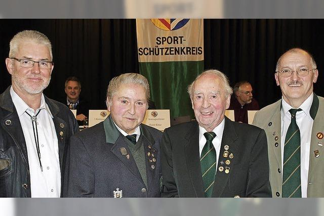 Je 60 Jahre im Verein