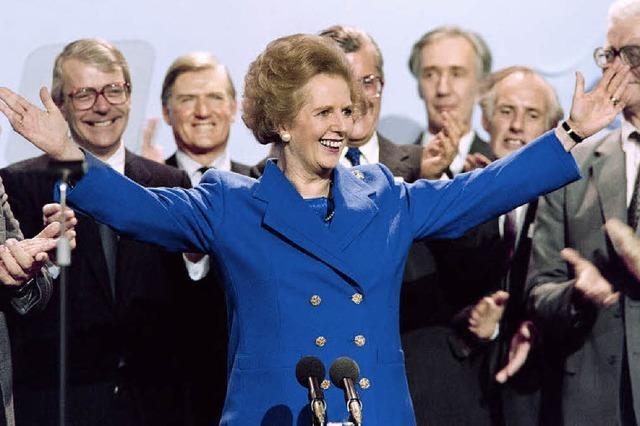 Trauer um Margaret Thatcher