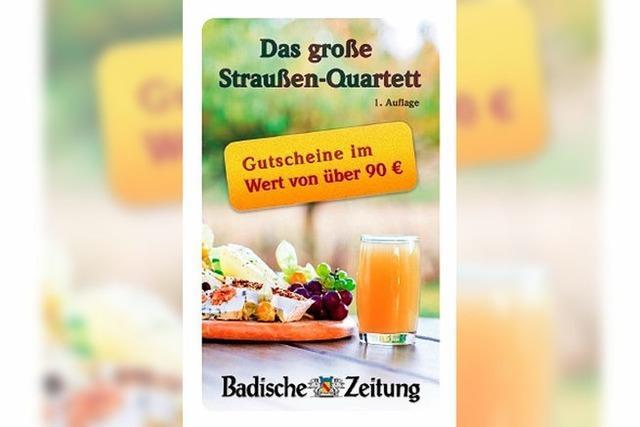 Neu: Das BZ-Straußen-Quartett ist da!