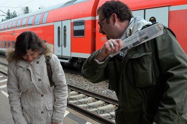Bundespolizei simuliert Angriff: Wird jemand helfen?