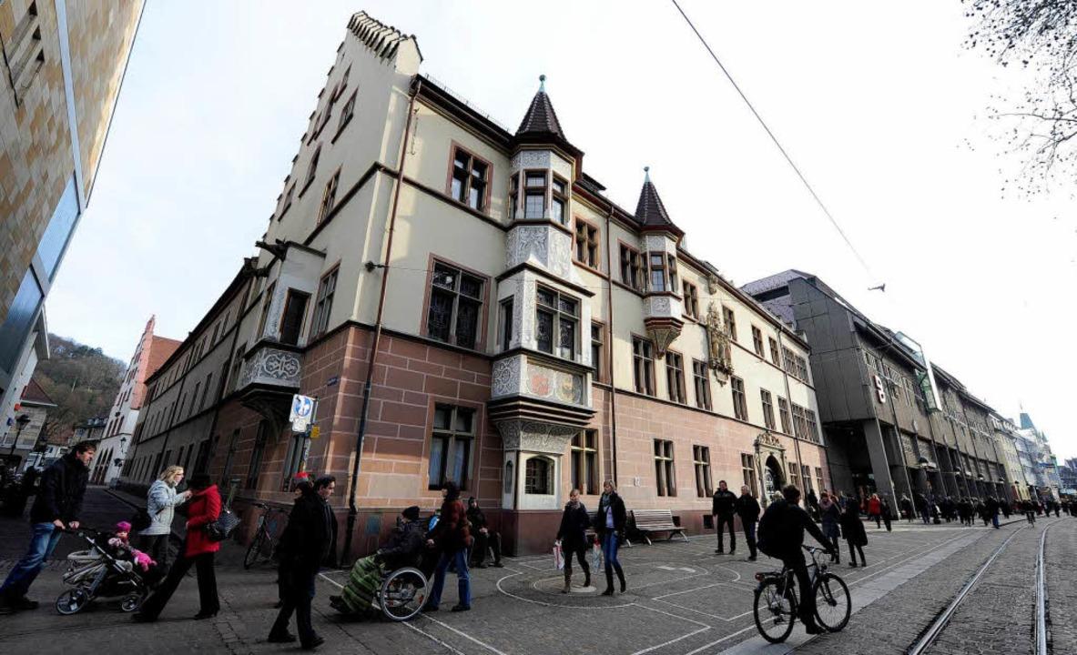 Das Regierungspräsidium in Freiburg  | Foto: Ingo Schneider
