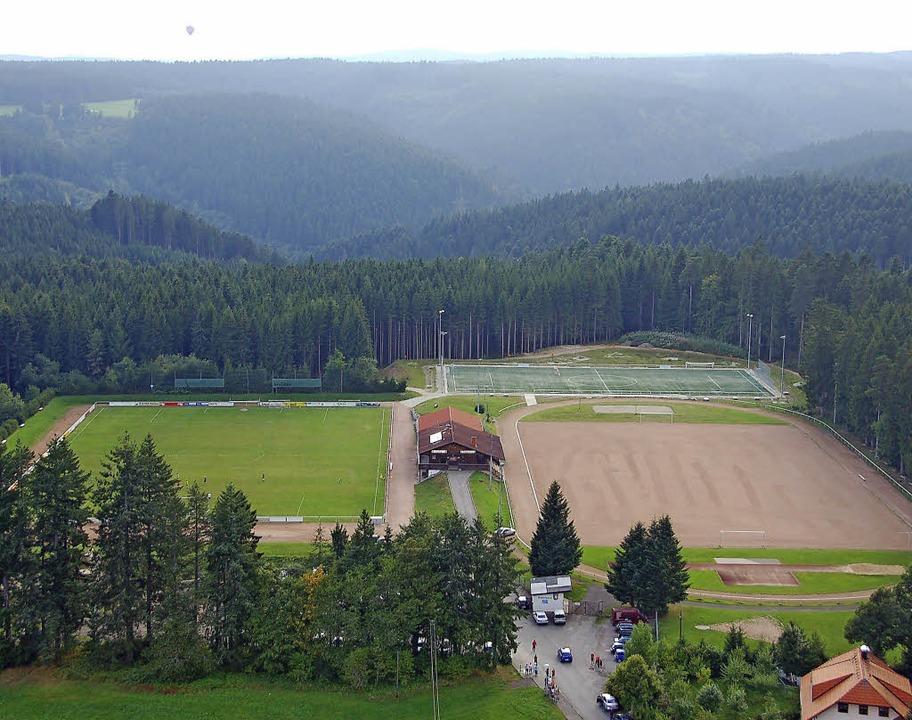 Beim Sportplatz soll wieder ein Stellp...planung für das gesamte Sportgelände.   | Foto: Juliane Kühnemund