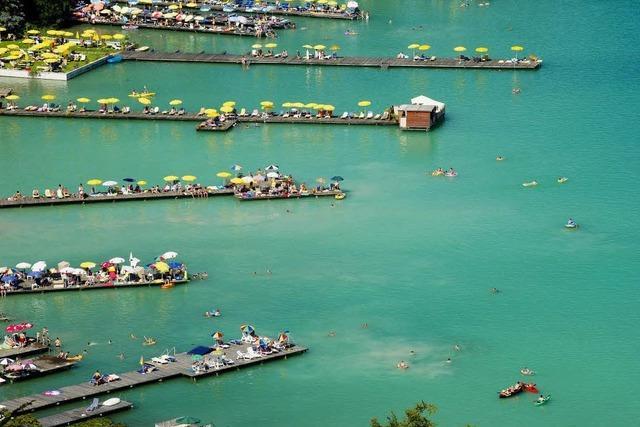 Schöne Seen - zum Tauchen nach Kärnten