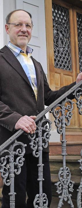 Kurt Lammert ist seit 30 Jahren in der Muettersproch-Gsellschaft aktiv.   | Foto: Beatrice Ehrlich