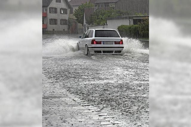 Staukanal soll Starkregen schlucken