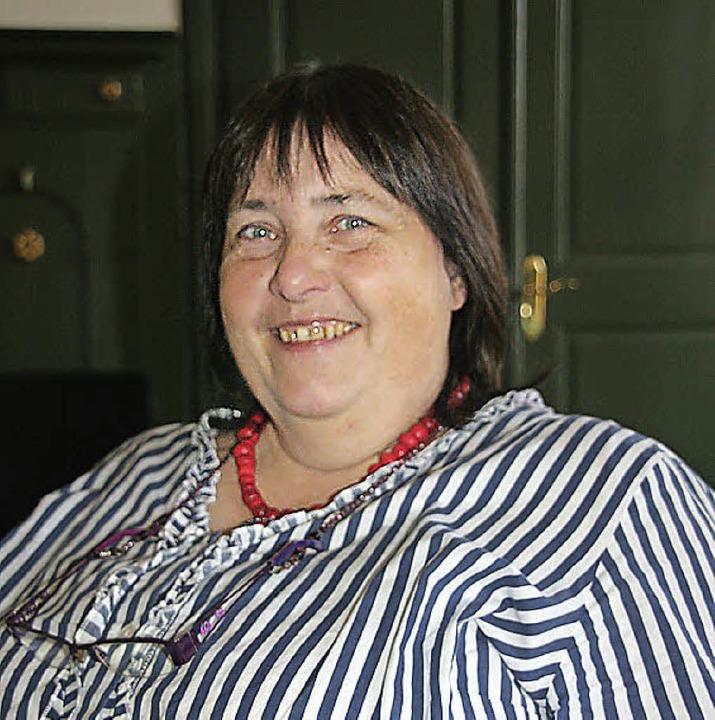 Museumsleiterin Ulla K. Schmid hat Gewissheit: Fahrnau ist älter als 900 Jahre.     Foto:  Jung-Knoblich