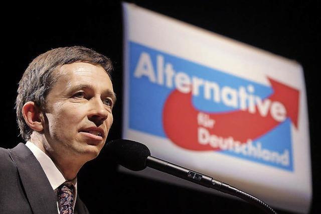"""Die """"Alternative für Deutschland"""" trifft sich zu ihrem Gründungsparteitag"""