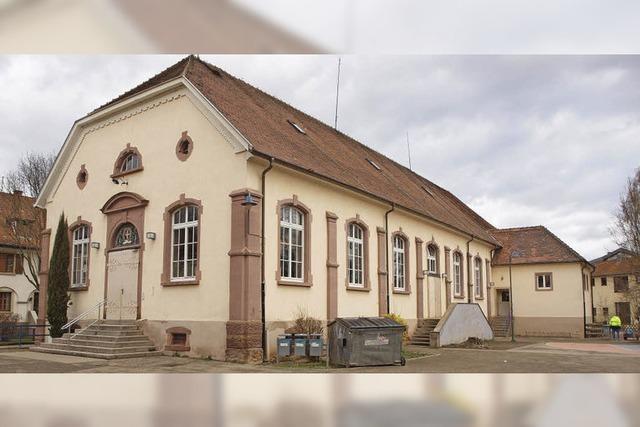 Alte Halle wird saniert
