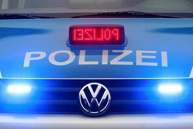 Unfall auf der Autobahn zwischen Freiburg und Teningen