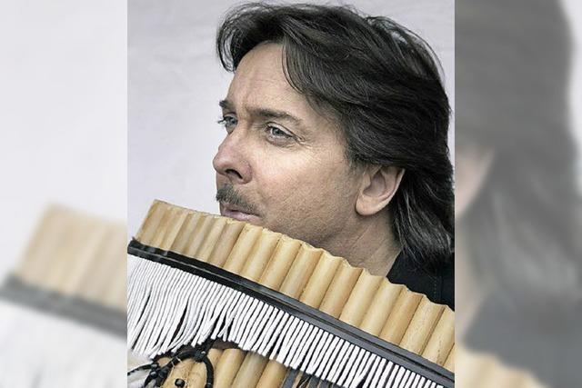 Panflötenmusik von Roberto Antela Martinez