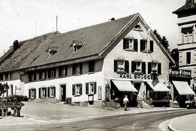 Das Geschenkhaus Brugger schließt