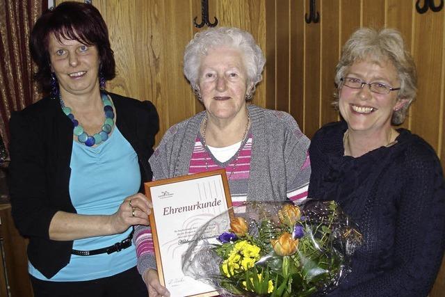 Neues Ehrenmitglied bei den Landfrauen