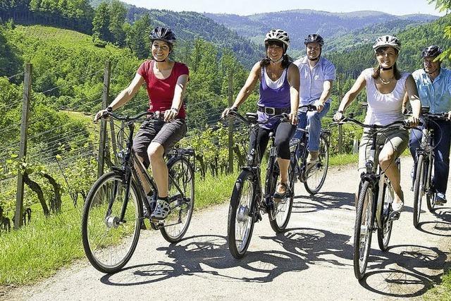 Mit Rad und E-Bike auf