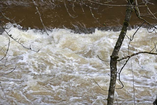 Hochwasser in der Wutachschlucht