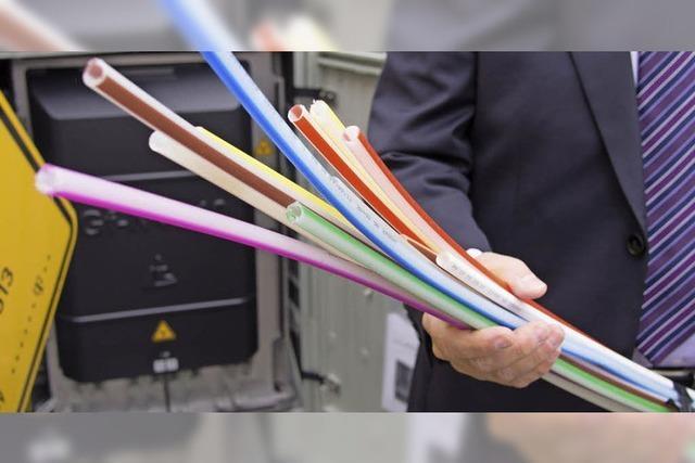 Telekom beginnt mit den Bauarbeiten
