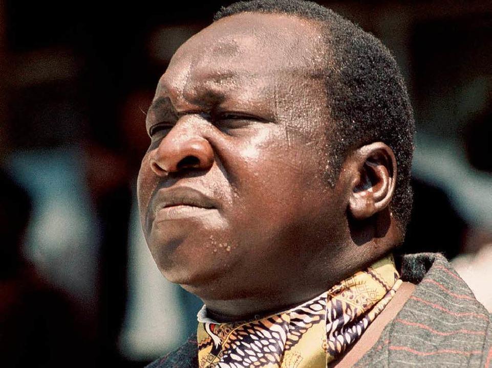 Vorläufer: Idi Amin herrschte in den 70er Jahren in Uganda     Foto: dpa