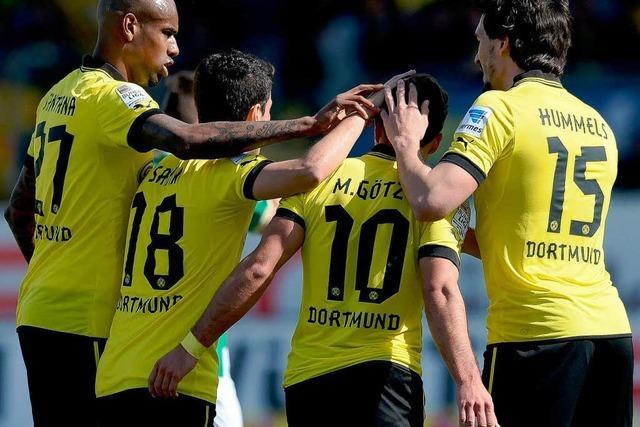 Bayern und Dortmund weiter in Torlaune