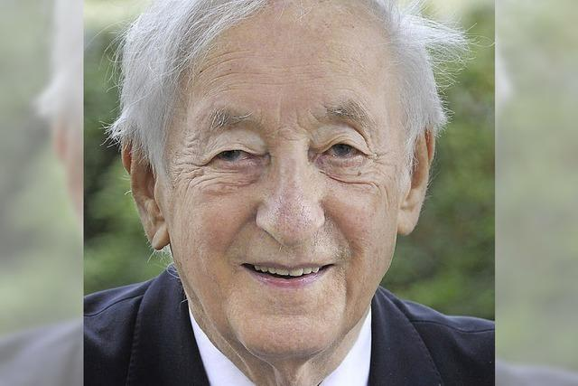 Zum Tod des früheren Präsidenten Georg Hüssler: