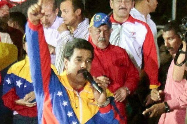 Knapper Wahlsieg für Chávez-Kandidaten Maduro