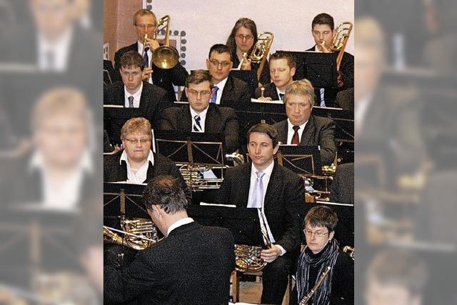 Wollbacher Musiker in Topform