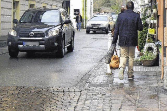 Mehr Platz für Fußgänger