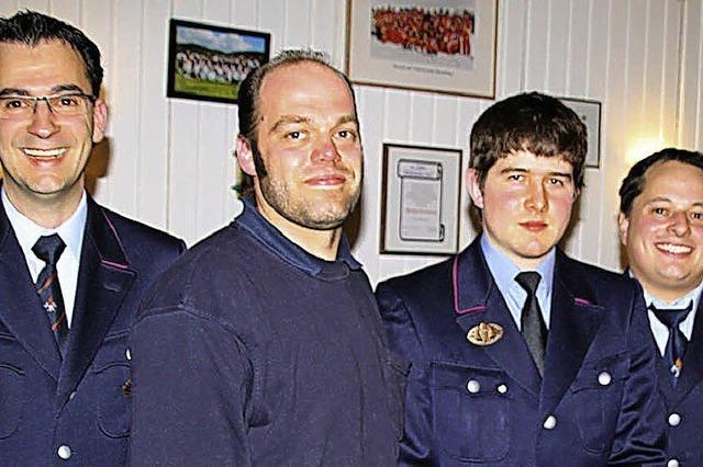 Neuer Abteilungskommandant ist 22 Jahre jung