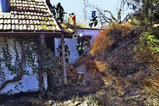 Flächenbrand geht wohl auf Fahrlässigkeit zurück