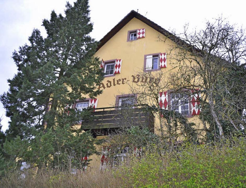 Mitte des 19. Jahrhunderts wurde sie g...em Gelände entstehen drei Wohnhäuser.   | Foto: Julius Steckmeister