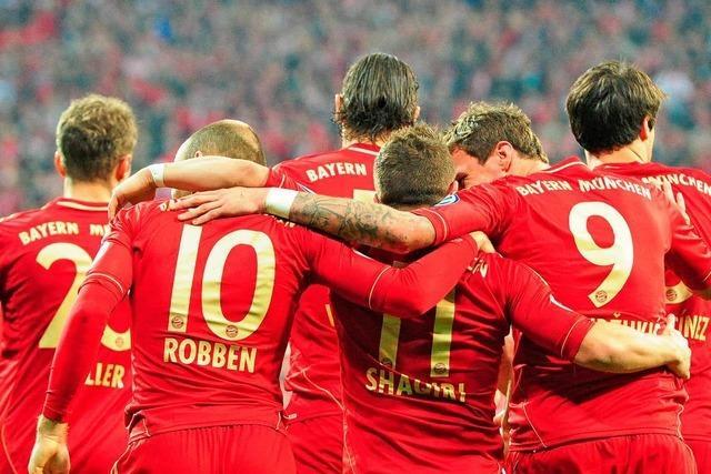 Kantersieg über Wolfsburg: FC Bayern steht im Finale des DFB-Pokals