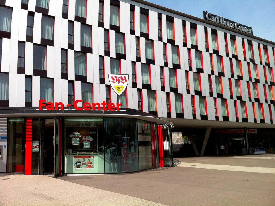 Der Ort des Geschehens: Die Mercedes-Benz-Arena in Stuttgart.  | Foto: Alexandra Sillgitt
