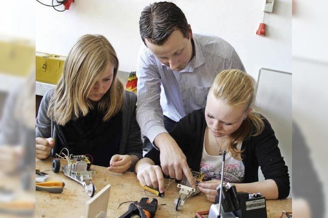 Schüler bauen Mini-Trike