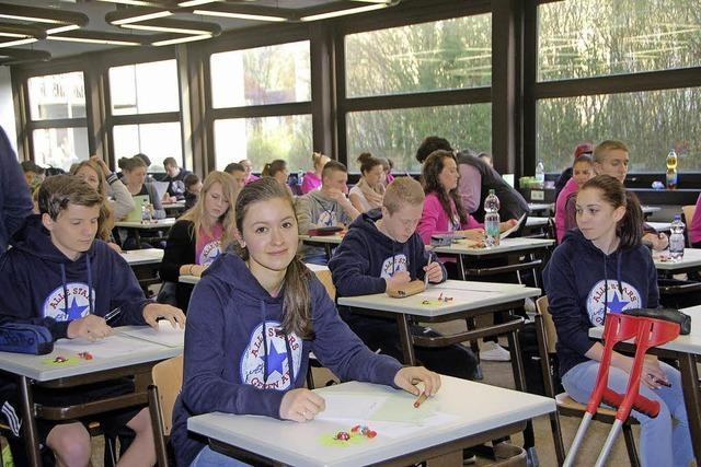 Mittlere Reife mit 133 Schülern