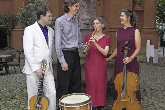 Tafelmusik und mittelalterliche Tänze