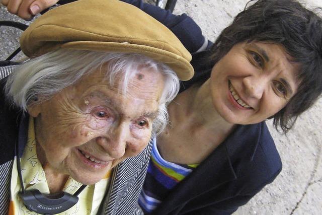 Alt-Stadträtin Gertraude Ils feiert 104. Geburtstag