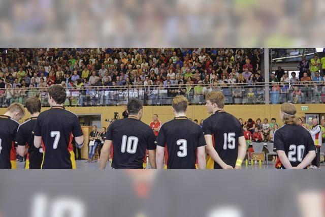 Handballfest mit Lokalmatadoren