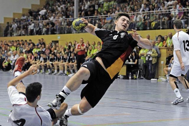 U-19-Länderspiel in Lörach wird zum Handballfest