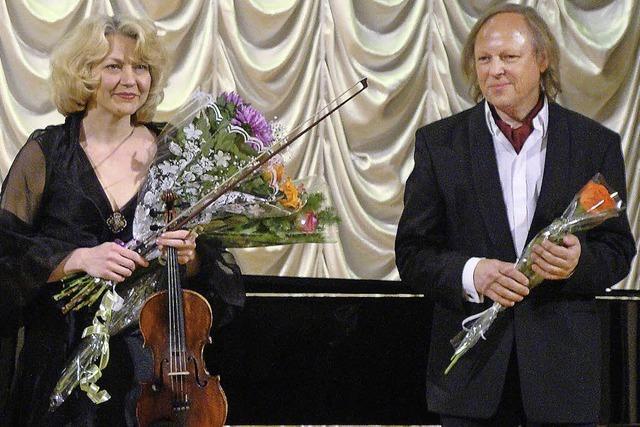 Iveta Viatet und Wolfram Lorenzen spielen Schubert und Franck