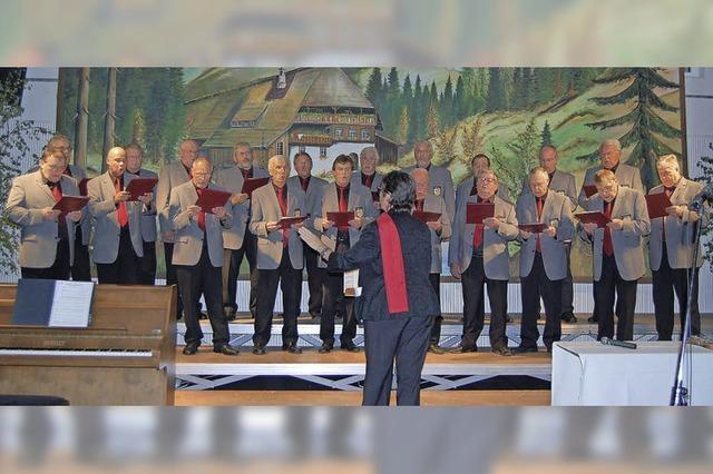 Viel Gesang zum 50-jährigen Bestehen