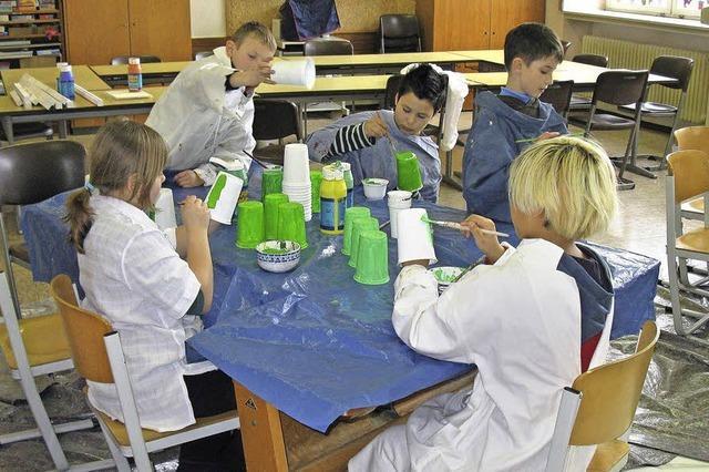 Grundschüler beteiligen sich am Tomi-Ungerer-Projekt