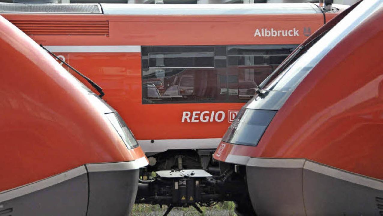Steckt in Anlaufschwierigkeiten: die Elektrifizierung der Hochrheinstrecke.  | Foto: GRAMESPACHER