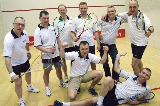 Squash fasst wieder Fuß