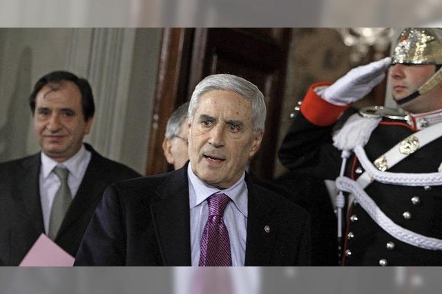 Verhärtete Fronten: Franco Marini scheitert bei der Präsidentenwahl