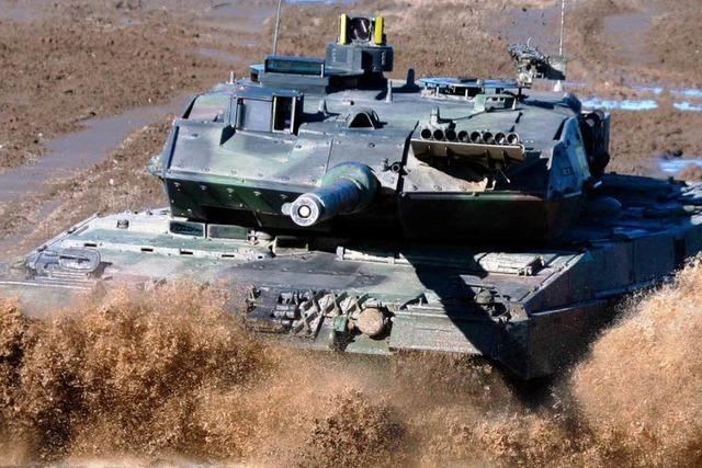 Deutschland liefert Panzer nach Katar
