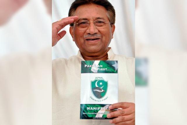 Musharraf flieht aus dem Gerichtssaal