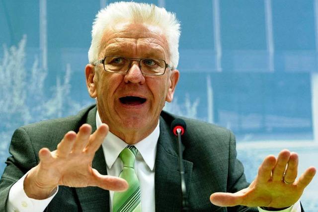 Kretschmann hadert mit dem Naturschutz bei der Windkraft