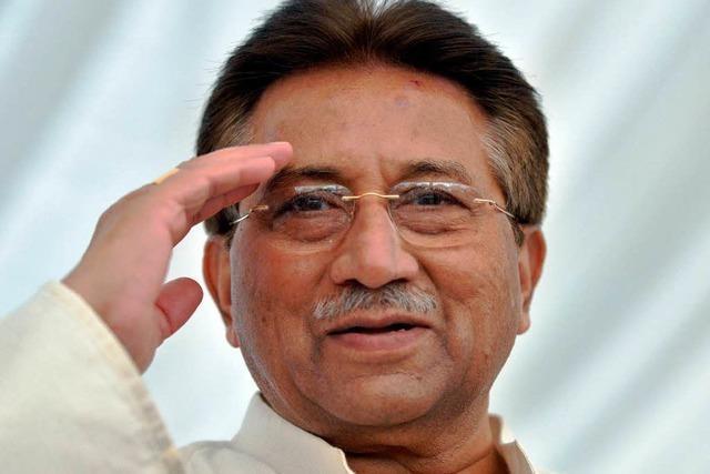 Musharraf hat sich gestellt