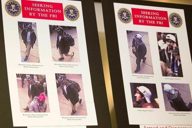 Boston: FBI zeigt Fotos von zwei Verdächtigen